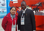 African agent took part in local Mining Expo.