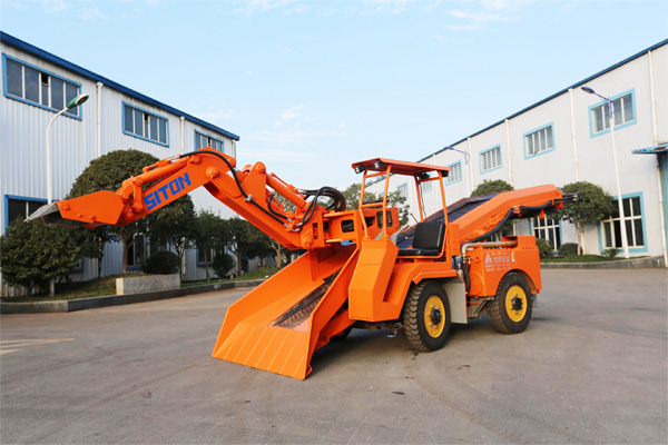 New Generation Small Cargador haggloader de ruedas Shipped to BH